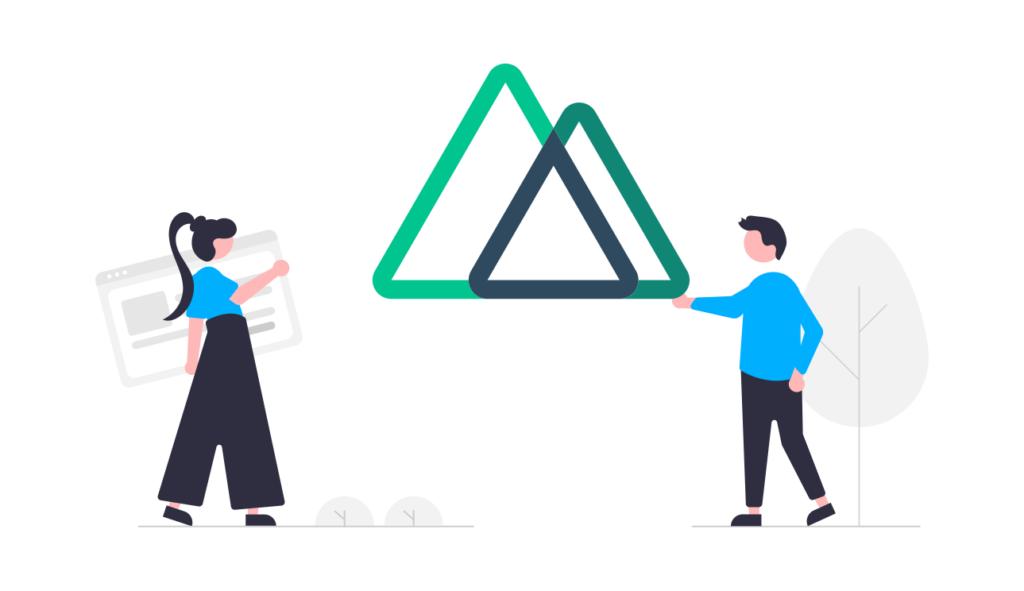 三角のオブジェ